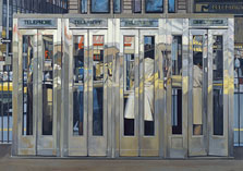 Telephone Booths, Richard Estes