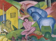 The Dream, Franz Marc