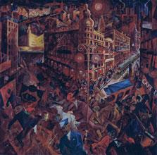 Metrópolis, George Grosz