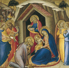 The Adoration of the Magi, Luca di Tommè