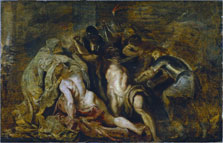 The Blinding of Samson, Peter Paul Rubens