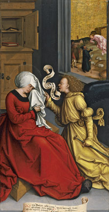 The Annunciation to Saint Anne, Bernhard Strigel