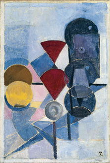 Composition II (Still Life), Theo van Doesburg