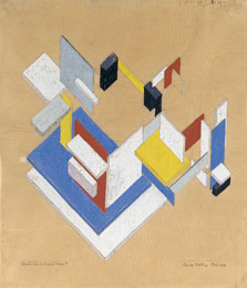 Construction in Space-Time II, Theo van Doesburg