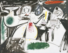 Last Painting (The Black Monk), Arshile Gorky
