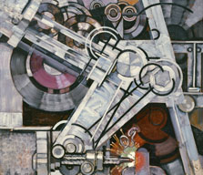 The Machine Drill, František Kupka