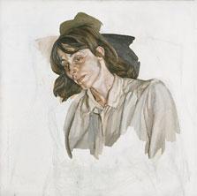 Último retrato, Lucian Freud