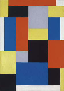 Composition XX, Theo van Doesburg
