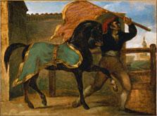Horse Race, Théodore Géricault