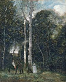 The Parc des Lions at Port-Marly, Jean-Baptiste-Camille Corot
