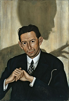Portrait of Dr Haustein, Christian Schad