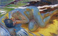 Blue Nude, Mikhail Larionov