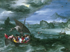 Christ in the Storm on the Sea of Galilee, Jan Brueghel I