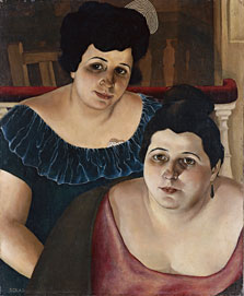 Maria and Annunziata 'from the Harbour', Christian Schad