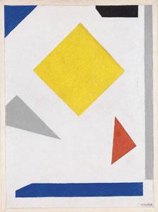 Composition, Vilmos Huszár