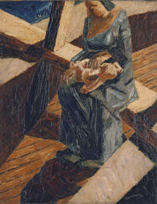 Bargee (Mother and Child), David Bomberg