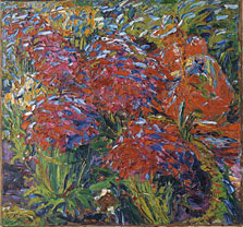 Red Flowers, Emil Nolde