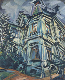 The Corner House (Villa Kochmann, Dresden), Ludwig Meidner