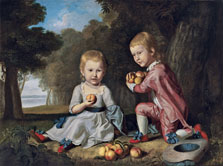 The Stewart Children, Charles Willson Peale