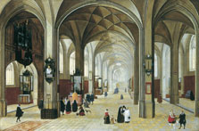 Church Interior, Peeter Neeffs I