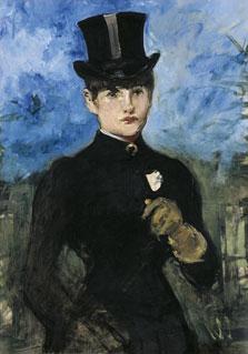 Horsewoman, Fullface, Édouard Manet