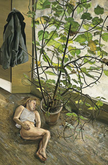 Gran interior. Paddington, Lucian Freud