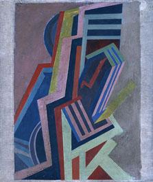Vorticist Composition, Edward Wadsworth