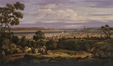View of Greenock, Scotland, Robert Salmon