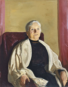 Una abuela, George Bellows