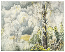 Bosques de cigarras, Charles Ephraim Burchfield