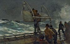 The Signal of Distress, Winslow Homer