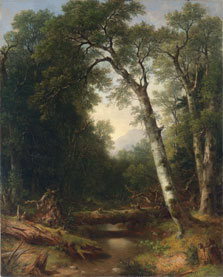 A Creek in the Woods, Asher B. Durand