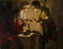Esaú vendiendo su primogenitura, Hendrick ter Brugghen