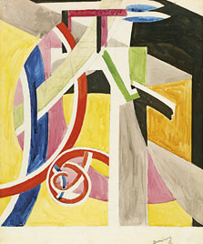 The Dancer, David Bomberg