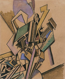 Vorticist Study, Edward Wadsworth