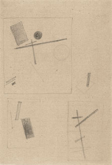 Suprematist Drawings, Kazimir Malevich