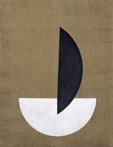 Segmentos de círculo, László Moholy-Nagy