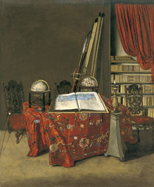 Corner of a Library, Jan Jansz. van der Heyden