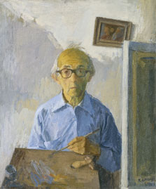 Self Portrait, Raphael Soyer
