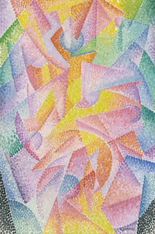 Expansion of Light (Centrifugal and Centripetal), Gino Severini