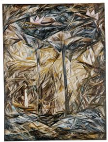 El bosque, Natalia  Goncharova