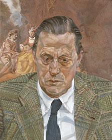 Portrait of Baron H. H. Thyssen-Bornemisza, Lucian Freud