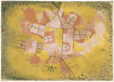Rotating House, Paul Klee