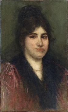 Rose et or: La Napolitaine, James McNeill Whistler