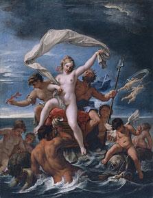 Neptune and Amphitrite, Sebastiano Ricci
