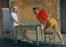 The Card Game,  Balthus