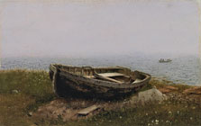 Abandoned Skiff, Frederic Edwin Church