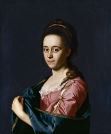Portrait of Mrs Joshua Henshaw II (Catherine Hill), John Singleton Copley