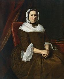 Retrato de Miriam Kilby, mujer de Samuel Hill, John Singleton Copley