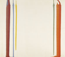 Pillars of Hercules, Morris Louis